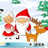 Help Santa to kiss Mrs Santa without cought by elves.